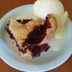 Foodie Friday First: Loganberry Pie