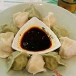 Foodie Friday First: Green Tea Dumplings