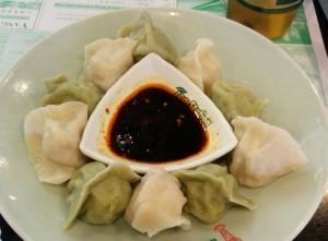 green tea dumpling