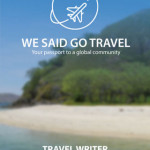 I'm a Travel Writer